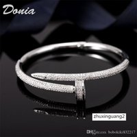 Wholesale donia for sale - Group buy Donia jewelry party European American large micro inlaid Zirconia women s Bracelet birthday gift Christmas