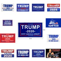 Wholesale 12 usa for sale - Group buy Trump Flag Styles cm Polyester Donald Trump Keep America Great USA President Banner Flags OOA8281