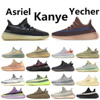 Wholesale 2020 Kanye West Yecher Asriel Israfil Sulfu Running Shoes Tail Light Static Zebra Linen Citrin Gid Bred Earth Cinder Mens Trainers Sneakers