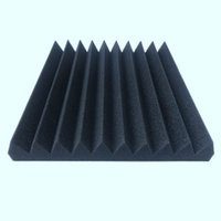 Wholesale sound tiles for sale - Group buy 12 Acoustic Panels Soundproofing Foam Acoustic Tiles Studio Foam Sound Wedges inch X inch X inch black red