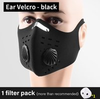 Wholesale man filter for sale - Group buy 2020 Cycling Protective masks outdoor running anti fog men and women bicycle dust proof activated carbon masks with filter