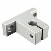 ingrosso guide lineari per cuscinetti -Wholesale- 1Pc SK8 8mm Linear Rail Shaft Support Block For Cnc Linear Slide Bearing Guide CNC Parts P0.05 AYIt#