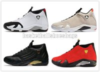Wholesale size 14 basketball shoes resale online - 14 Basketball Shoes s Candy Cane Men The Last Shot Desert Sand DMP Black Toe Indiglo Thunder Mens Sports Trainers Sneakers Size