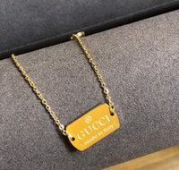 kalp kolye çiftler toptan satış-Designer luxury New Statement Couple Necklace for Women Fashion Key Lock Pendant Link Chain Fashion Jewelry Heart Necklace gg