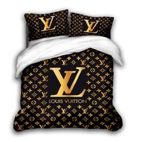 Wholesale duvet quilts resale online - 3D designer bedding sets king size luxury Quilt cover pillow case qu0een size duvet cover designer bed comforters sets F00