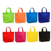 torbalar özelleştirmek toptan satış-Wholesale Non-woven Shop Bags Environmentally Friendly Handbags Laminated Bags Customized Advertising Shopping Bags Customized Printed Logo