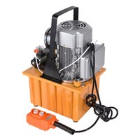 Wholesale oil hydraulic pump for sale - Group buy 220V Double Action Electric Hydraulic Pump Tank capacity L hydraulic motor pump r min GYB A II High Pressure Oil Pump