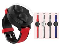Wholesale wrist bluetooth headset for sale – best TWS Watch Wireless Earphone Wrist Bluetooth Earbuds Portable Stereo Hifi Sports headset with Mic Charging Box ZY T13 Watch Design