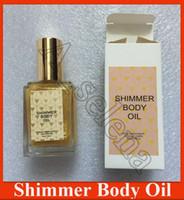Hot sale Face Body Makeup Shimmer Glitter Body Oil Liquid Highlighters Brighten Glow Highlighting 50ml highlight