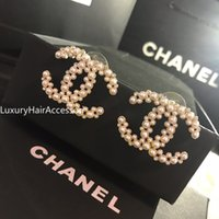 Wholesale date charms for sale - Group buy 2020 high quality fashion jewelry ladies earrings with party dresses best jewelry charm gorgeous stud earrings XX060