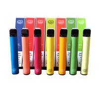 Wholesale puff flavors resale online - 38 Flavors Puff Plus Disposable Device Puff mL Pre Filled Pen Vape Vaporizers Cartridge mAh battery Portable ecig