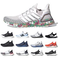 frauen james schuhe groihandel-adidas Stock X Masks Ultraboost 6.0 Ultra boost 2020 Mens Running shoes Rainy Season Woodstock nice kick men women designer sports sneakers 7339044