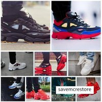 Wholesale consortium ozweego resale online - Original Box Unisex Raf Simons x Outdoor Casual Trainers Consortium Ozweego II Women Men Sneakers EUR
