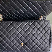 Wholesale large silver bag for sale - Group buy classic Women Large Capacity Duffel Bags CM Quilted Chain Shoulder Shopping Tote purse Airport Bag Weekender Traveling tote bags purse