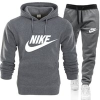 Wholesale men s casual sports Tracksuit Fashion Designer Sets Solid Color Brand Outfit Suits Tracksuits for Mens