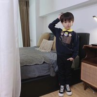 Wholesale cool baby boy clothing resale online - ids hoodies sweatshirts toddler Baby clothing Boys Girl clothes autumn spring Top t shirt Cool Cotton children Pullover fashion