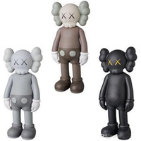 Wholesale boys toys figures resale online - 20CM KG OriginalFake kaws use of small dolls to play inches Action Figure model decorations toys gift