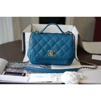 Wholesale custom jewelry bags resale online - Fashionable lady handbag high end custom quality handbag classic business leisure fashion bag metal jewelry with long shoulder straps