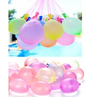 Wholesale magic fill water balloons resale online - Summer Colorful Bunch of Balloons Magic Water filled Balloon Children Garden Beach Party Play In The Water For Kids Water Bombs Games Toys03