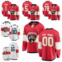 Wholesale barkov jersey for sale - Group buy 2020 Florida Panthers Jonathan Huberdeau Roberto Jersey Luongo Aleksander Barkov Aaron Ekblad Mike Hoffman hockey jerseys Custom Stitched
