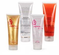 Wholesale body slimmer gel resale online - Ultrasonic Gel RF EMS Massager Cavitation Body Slimming Facial Skin Firming Lifting Tighten Anti Wrinkles Injection Gel Cream