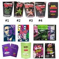 Wholesale NeRds ROPE Bites Dank Gummies WONKA ERRLLI Runtz Gasco SOUR GUSHERS Cannaburst ROPE DOPE Infused Packaging Mylar Bag Pouch Package