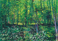 Wholesale painting trees for sale - Group buy Trees and Undergrowth Van Gogh Canvas Painting Home Decor Handpainted HD Print Oil Painting On Canvas Wall Art Canvas Pictures
