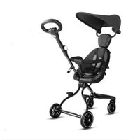 Wholesale stroller baby doll resale online - Baby doll artifact baby stroller foldable child portable stroller high landscape two way one click folding