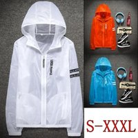 Wholesale casual riding jackets resale online - ZOGAAfashion casual transparent sun protection clothing outdoor riding light and breathable sports UV protection men s jacket