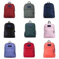 Wholesale cool laptops designs resale online - Casual Canvas Cool Men S Simple Design Comter Notebook Backpacks Designer School Bag Business Laptop Backpack Travel Bag