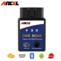 Wholesale scanner live resale online - ELM327 OBD2 Scanner Bluetooth Wireless OBD Code Reader Live Data OBDII Scan Tool PK CR3001 Car Diagnostic Tool Auto Scannner