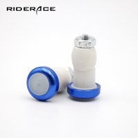 Wholesale bicycle safety accessories resale online - 2PC Bicycle Bar End Light Cycling Bar Plug Cap Safety Lights Rode Bike Handle Handlebar Warning Flash Lights Lamp Accessories