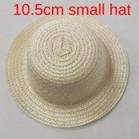Wholesale mini hat diy for sale - Group buy Small straw DIY straw hat mini toy cm handmade woven pet mini bear doll DIY small hat