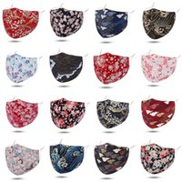 Wholesale Printed fashion face mask reusable face mask washable dustproof and haze styles send by DHL Shipping XD23753