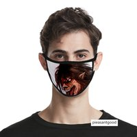 Wholesale giant masks resale online - Attack giant d digital printing Ice Silk cloth men s and women s life mask