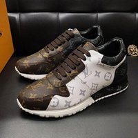 Wholesale footwear for mens resale online - Hot Luxury Sports Shoes For Men Sneakers Flats Casual Comfort Trendy Footwear Lace Up Top Quality Mens Shoes Fashion Sneakers Luxury Drop S