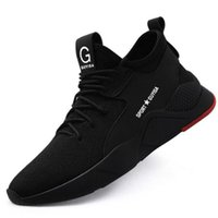 Wholesale steel toe sneakers for sale - Group buy S3 Level Men s Steel Toe Work Safety Shoes Casual Breathable Outdoor Sneakers Puncture Proof Boots Comfortable Industrial Shoes