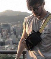 Wholesale hiking waist pack for sale - Group buy New Detachable Cross Body Hip Inclined shoulder bag Unisex Fanny Pack Waist Bag Men Canvas off Bags multi pocket shoulder bag