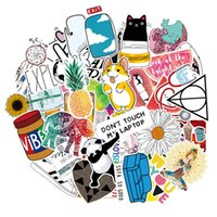 Wholesale cute animal notebooks resale online - 46Pcs Lovely VSCO Cute Nature Animal Girls Stickers Vinyl Decals Car Laptop Stickers Luggage Notebook Bottle Decals