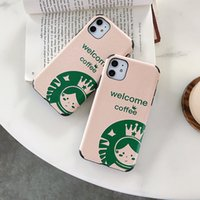 Wholesale hot iphone girl for sale – best Hot Luxury Designer Cute star girl green Soft silicon case for iphone plus plus X XR XS Max Pro coffee fashion back cover coque