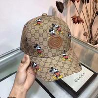 Wholesale mens fashion baseball caps resale online - 2020 Fashion Mens Baseball Caps New Hats Men Women casquette Sun Hat Sports hats for Men Women Embroidery Caps