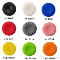Wholesale ps4 and xbox one controller resale online - 2019 Silicone thumbstick caps thumb grip caps for PS4 PS3 Xbox one and Xbox360 controllers free ship