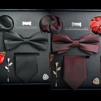 Wholesale executive gifts resale online - s8xvw Men s Business Professional casual formal wear white collar executive Men s business Professional piece set boyfriend gift box collar