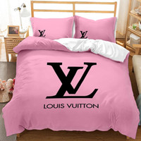 Wholesale duvet quilts resale online - 3D designer bedding sets king size luxury Quilt cover pillow case qu0een size duvet cover designer bed comforters sets F01