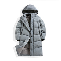 Wholesale natural metals resale online - Stone Pirates island ss new White goose down filled metal nylon hood down jacket with brand print on the back