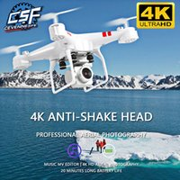 Wholesale camera fixing resale online - 2020 New Drone k camera HD Wifi transmission fpv drone air pressure fixed height four axis aircraft rc helicopter with camera