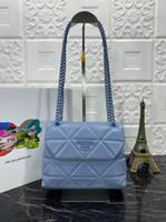 Wholesale flowers name resale online - Top luxury shoulder bag female handbag handbag handbag shoe cover sheepskin net red ins designer of the same name