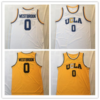 Wholesale ucla jersey resale online - NCAA Westbrook UCLA Jersey College Basketball jerseys Wears University Shirt Stitched jersey Top Quality