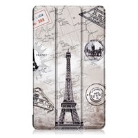 Wholesale tablet case for lenovo resale online - Case for Lenovo Smart Custer leather case for Lenovo Tab Essential F TAB E7 TB F TB F Tablet PC cover Painted