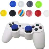 Wholesale controller thumbstick grips for sale - Group buy 2020 Silicone thumbstick caps thumb grip caps for PS4 PS3 Xbox one and Xbox360 controllers